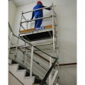 Heavy Duty Aluminium Stairwell Towers 1.375m x .522m Base Size 2m Plaftorm Height